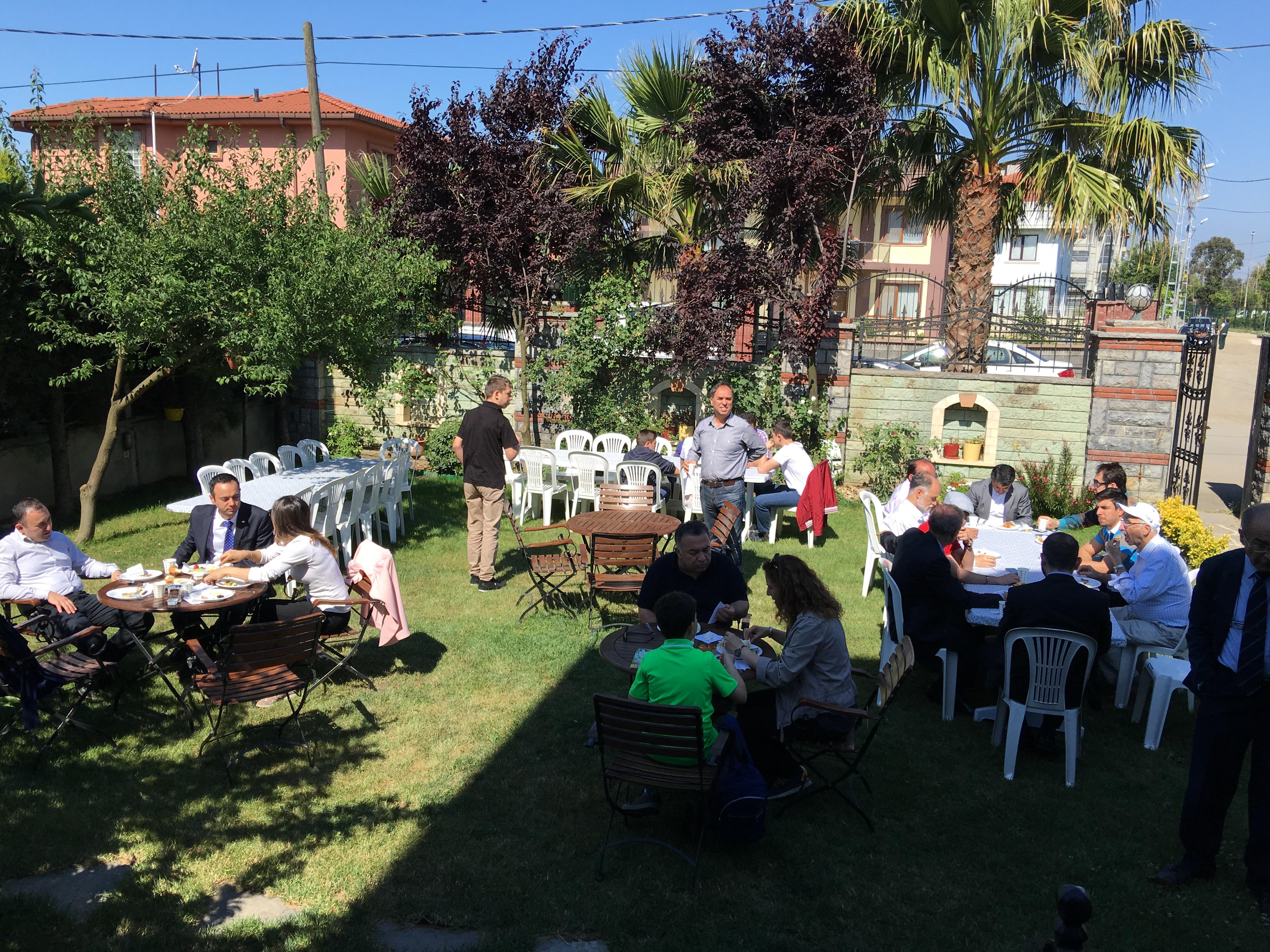 19 Mayıs Atatürk'ü Anma, Gençlik ve Spor Bayramı'nı Üyeler ile Kahvaltı