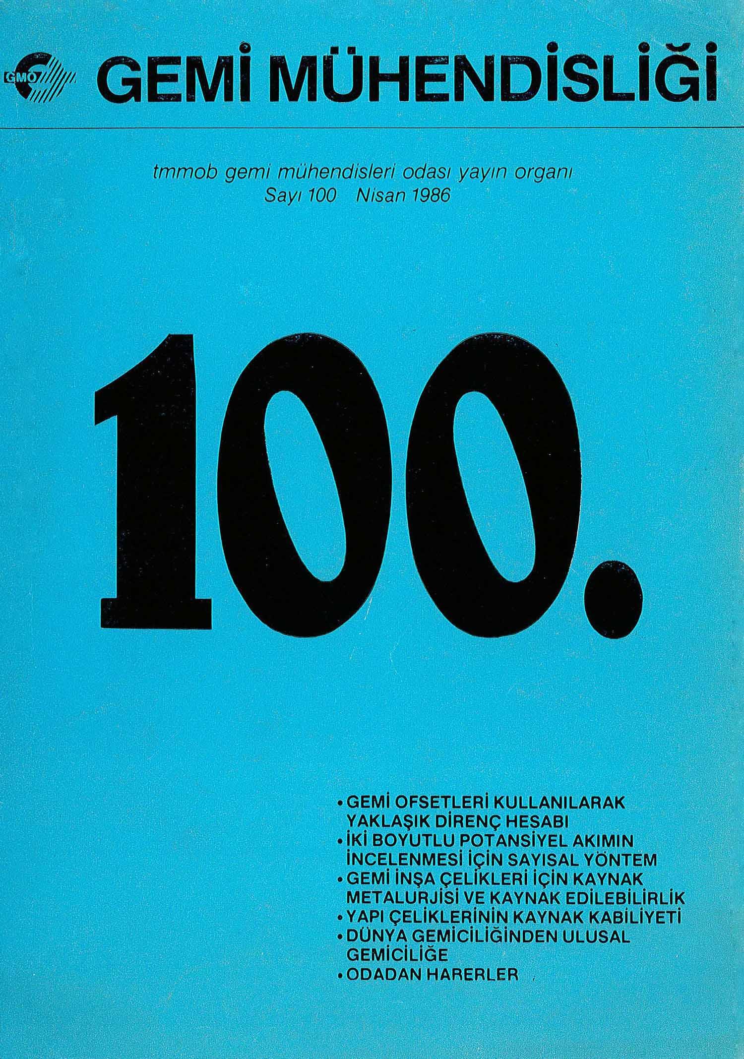 100. Sayı