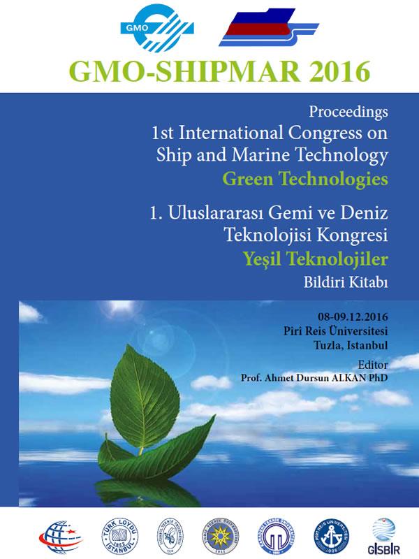 GMO-SHIPMAR 2016 Bildiri Kitabı