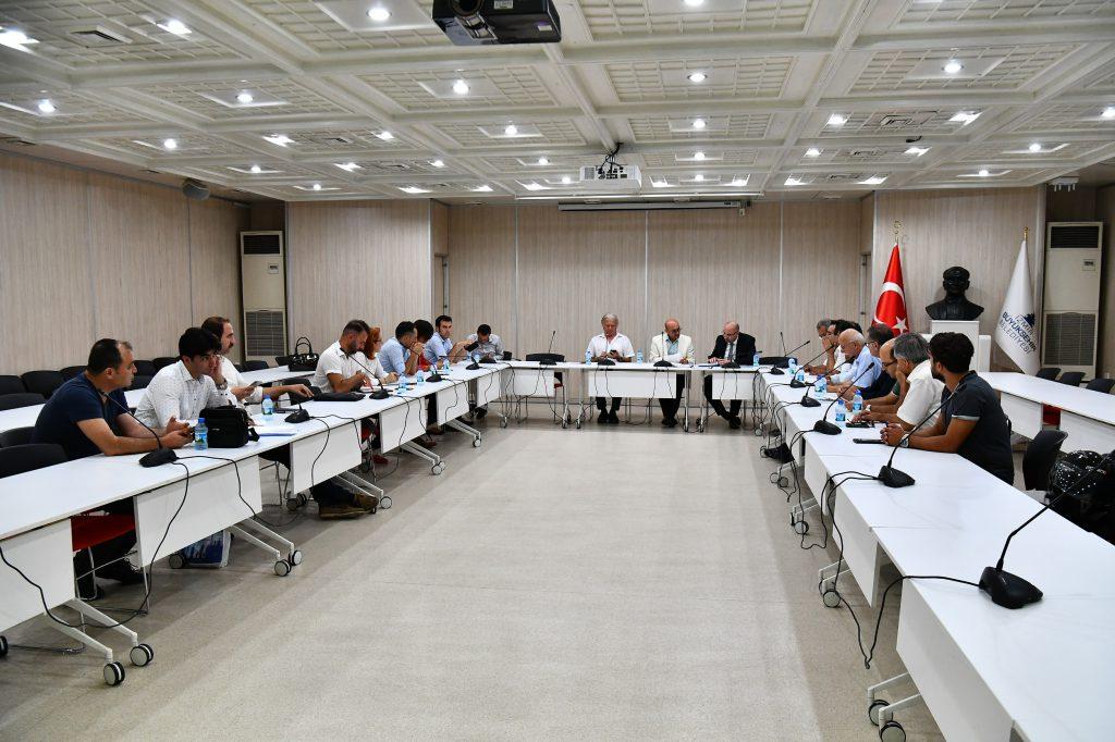 TMMOB İzmir İl Koordinasyon Kurulu - İzmir Büyükşehir Belediyesi Toplantısı