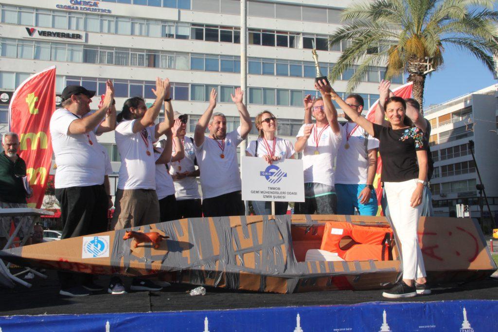 1 Temmuz Denizcilik ve Kabotaj Bayramı 11. Kartondan Tekneler Yarışı