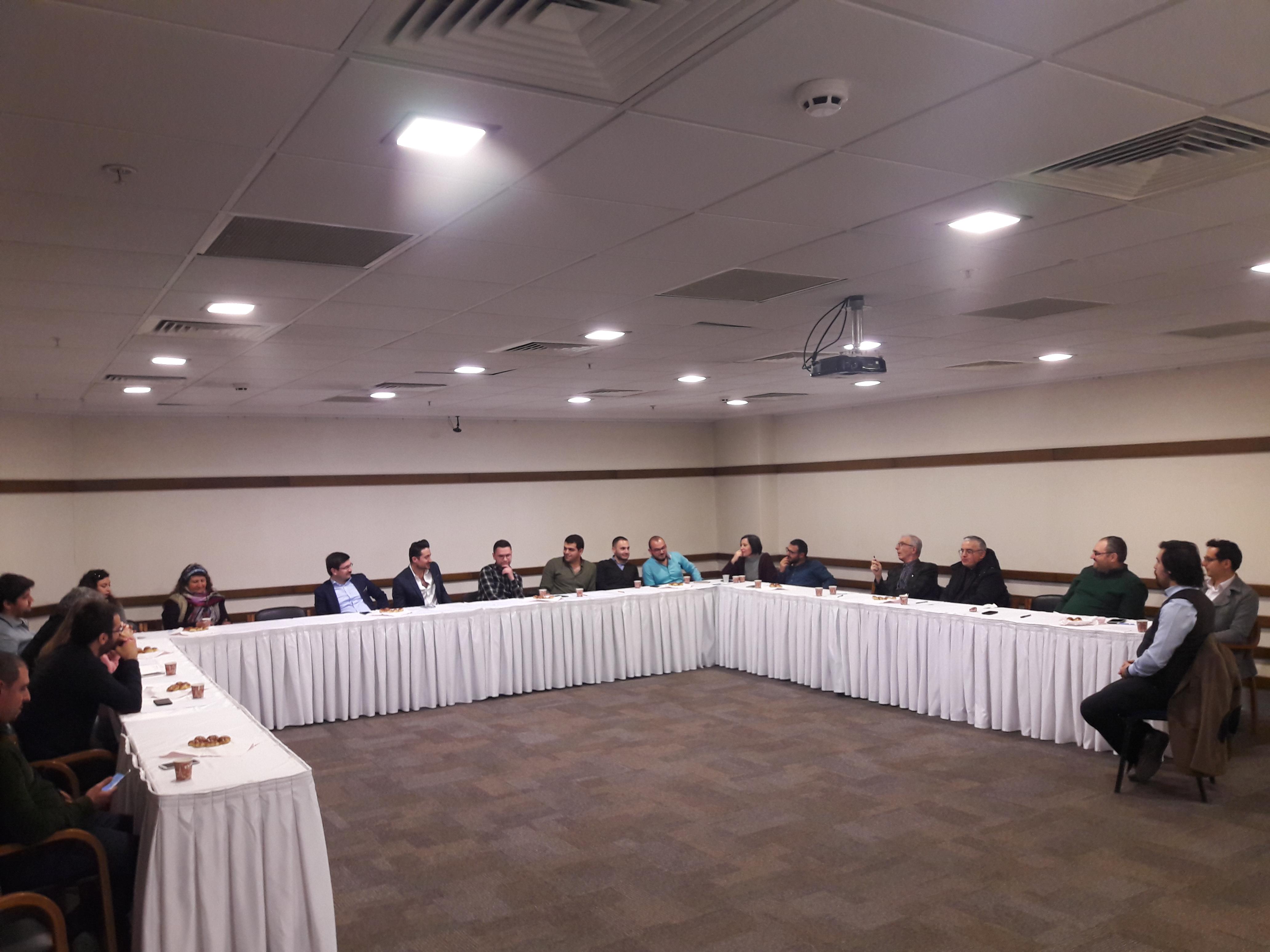 GMO İzmir Şube  Tanışma Toplantısı Gerçekleştirildi.