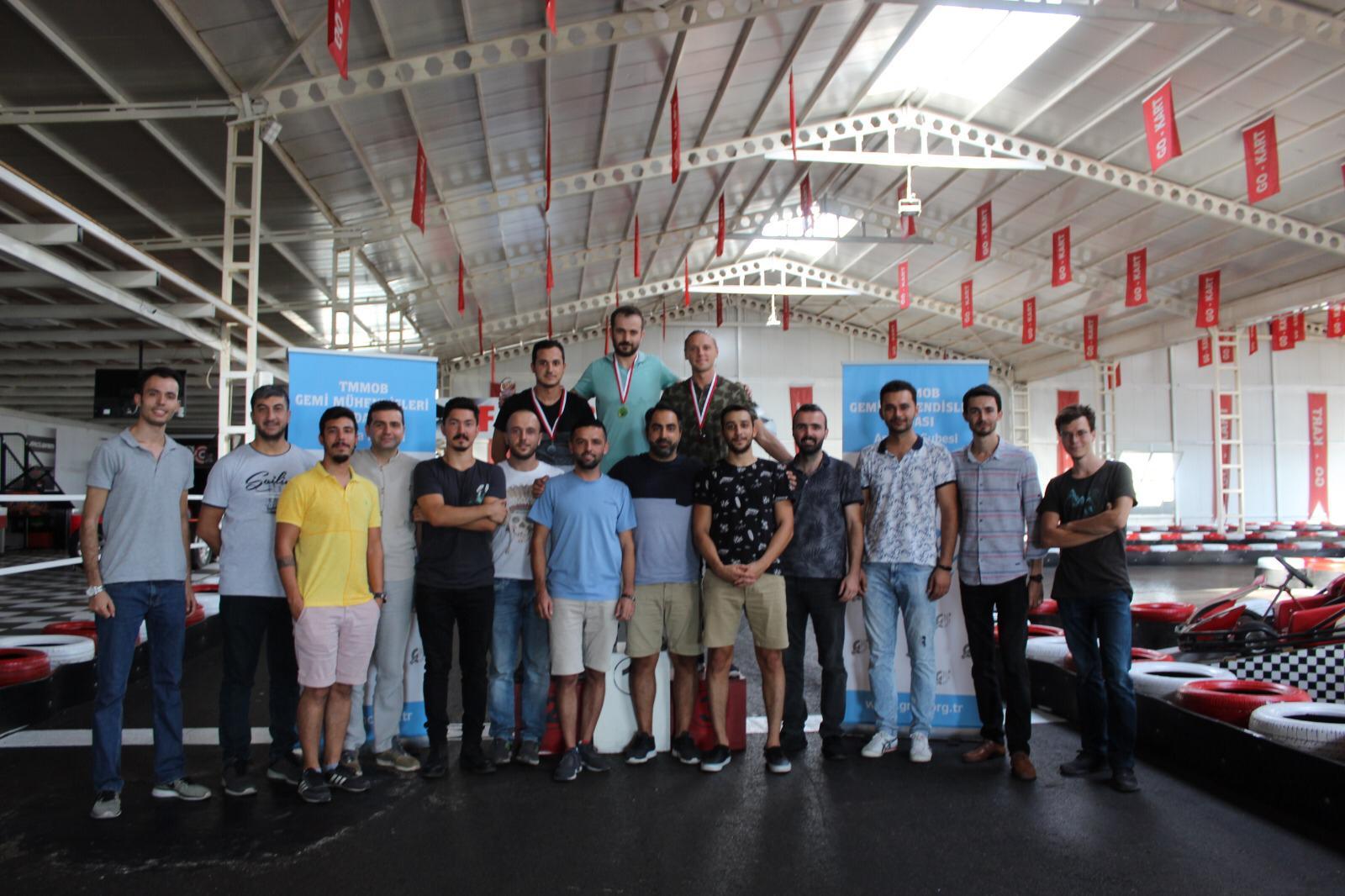 Üyelerimiz ile GO KART Turnuvasında Buluştuk