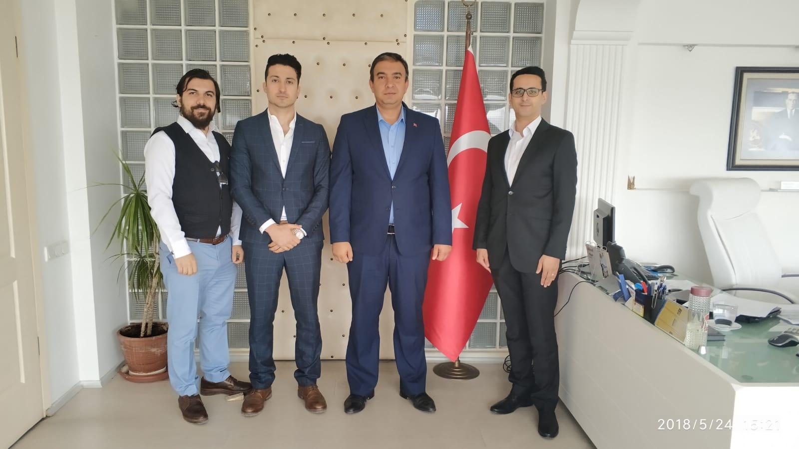 İzmir Liman Başkan Vekili Sayın Ahmet APAK' ı ziyaret ettik.
